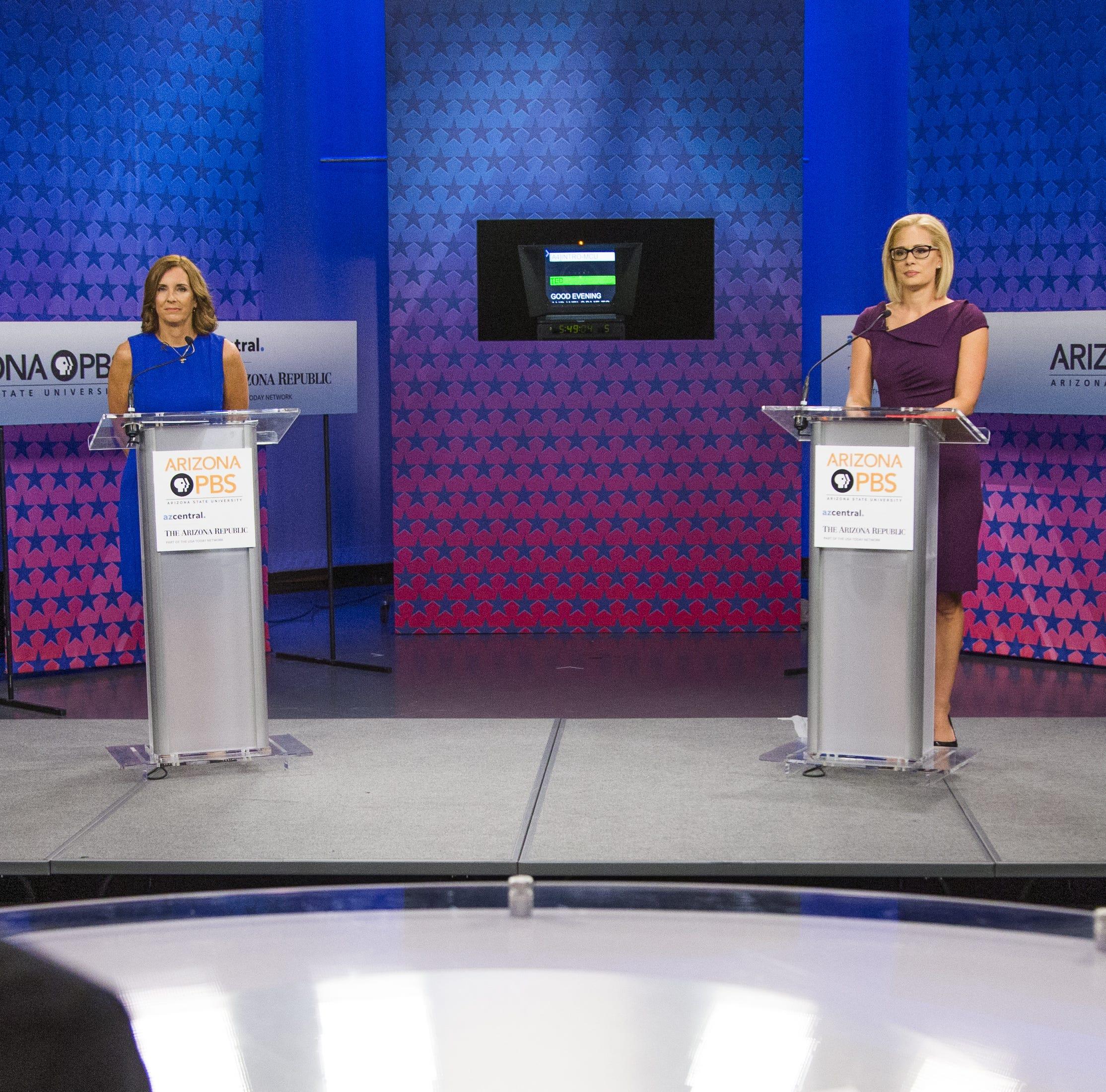 Debate expert breaks down body language, tone and tension during McSally-Sinema debate