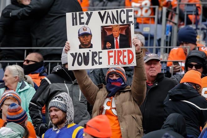 Denver Broncos fans have begun calling for coach Vance Joseph's job.