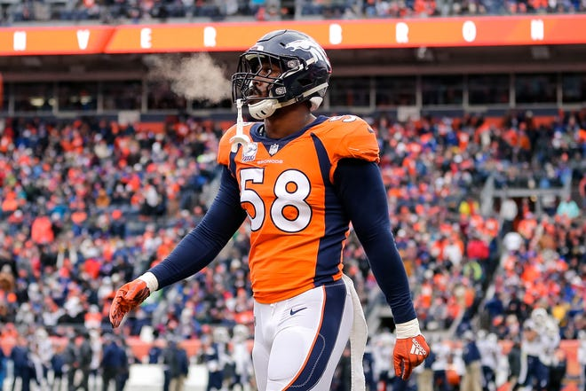 Von Miller and the Broncos are coming to Arizona to face the Cardinals on Thursday Night Football.