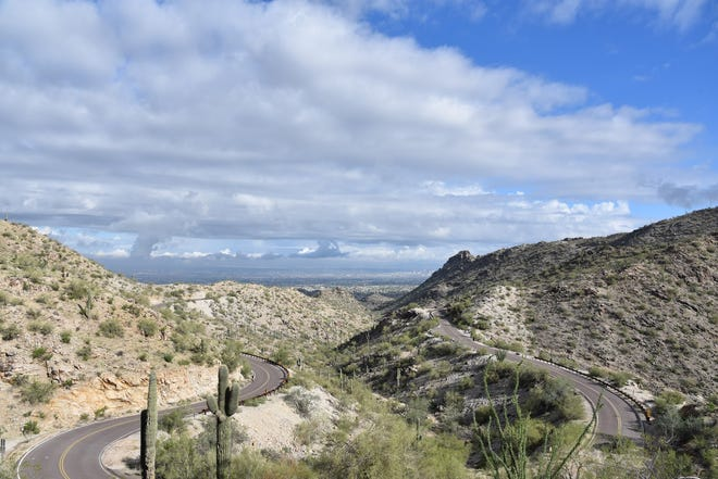 A hiker found a man in his 40s unresponsive on a trail in South Mountain Park on Friday morning.
