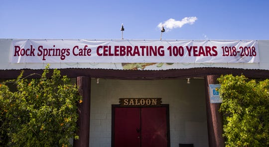 Rock Springs Cafe in Black Canyon City will celebrate its 100-year anniversary with a music festival. The cafe is famous around the country for its delicious pies.