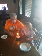 Ray Bedell celebrates his daughter's birthday. Bedell got thousands of dollars back from the State Bar of Arizona's Client Protection Fund after his attorney suddenly stopped working on his custody case.