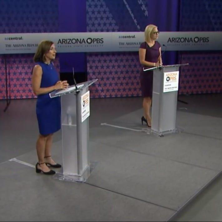 Watch LIVE: McSally and Sinema debate in U.S. Senate race for Arizona seat