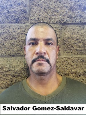 Salvador Gomez-Saldavar, 50, was arrested in Arizona on Sunday after re-entering the U.S. after he was previously convicted in 1994 in Fullerton, CA for attempted murder.