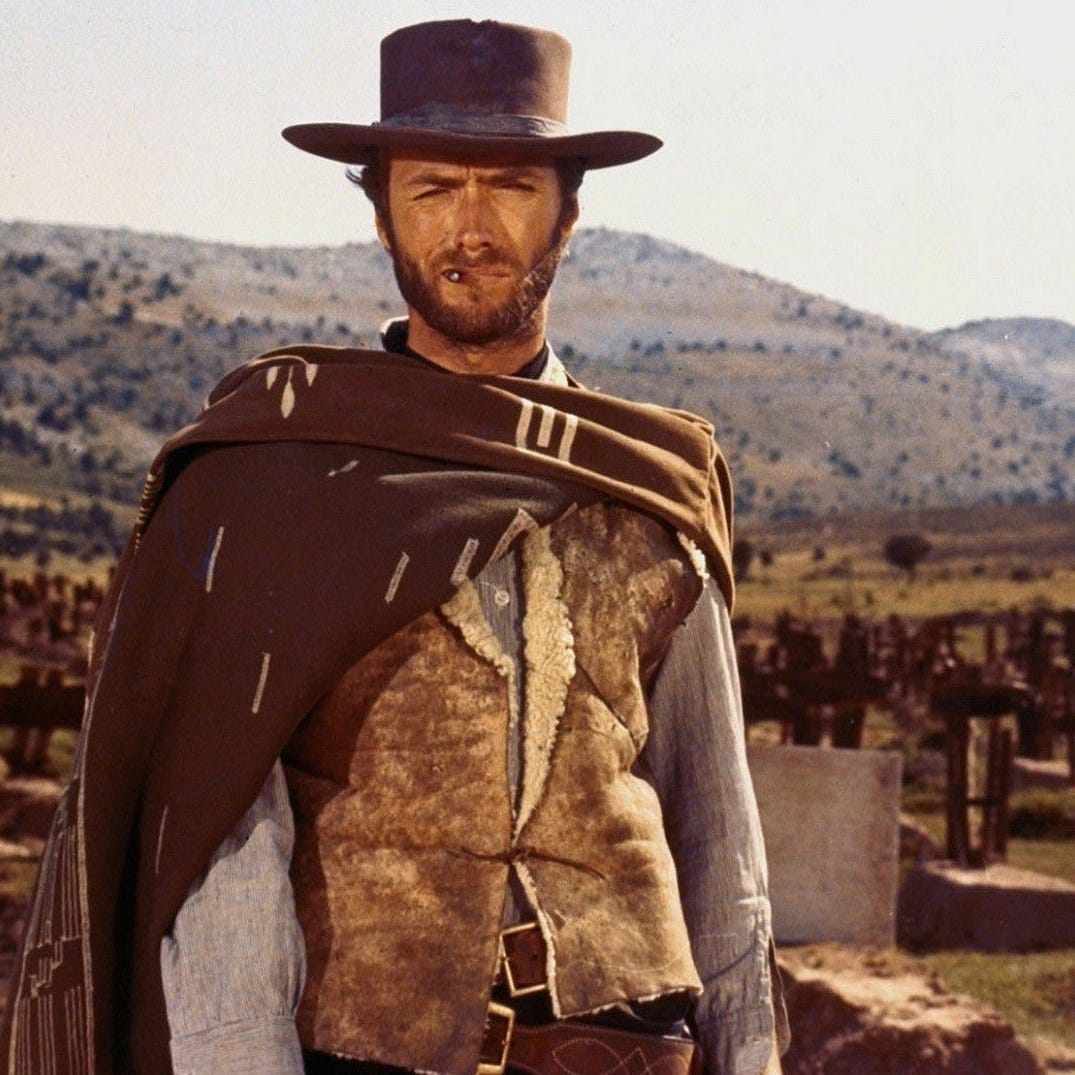 Lee Van Cleef was an iconic presence in the veteran villain category of film