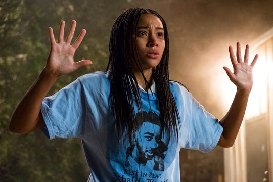"Amandla Stenberg stars in ""The Hate U Give."" The movie opens Oct. 18 at Regal West Manchester Stadium 13 and Frank Theatres Queensgate Stadium 13."