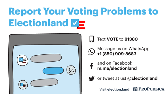ProPublica/Electionland Directions