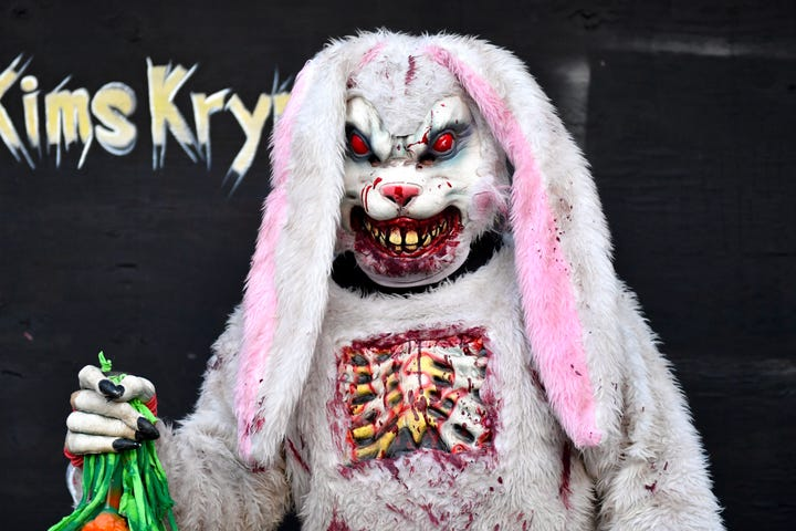 Kim's Krypt Haunted Mill celebrates 25th years by adding more ghoulish monsters and haunted rooms to its 64-plus-acre haunted property in York County.