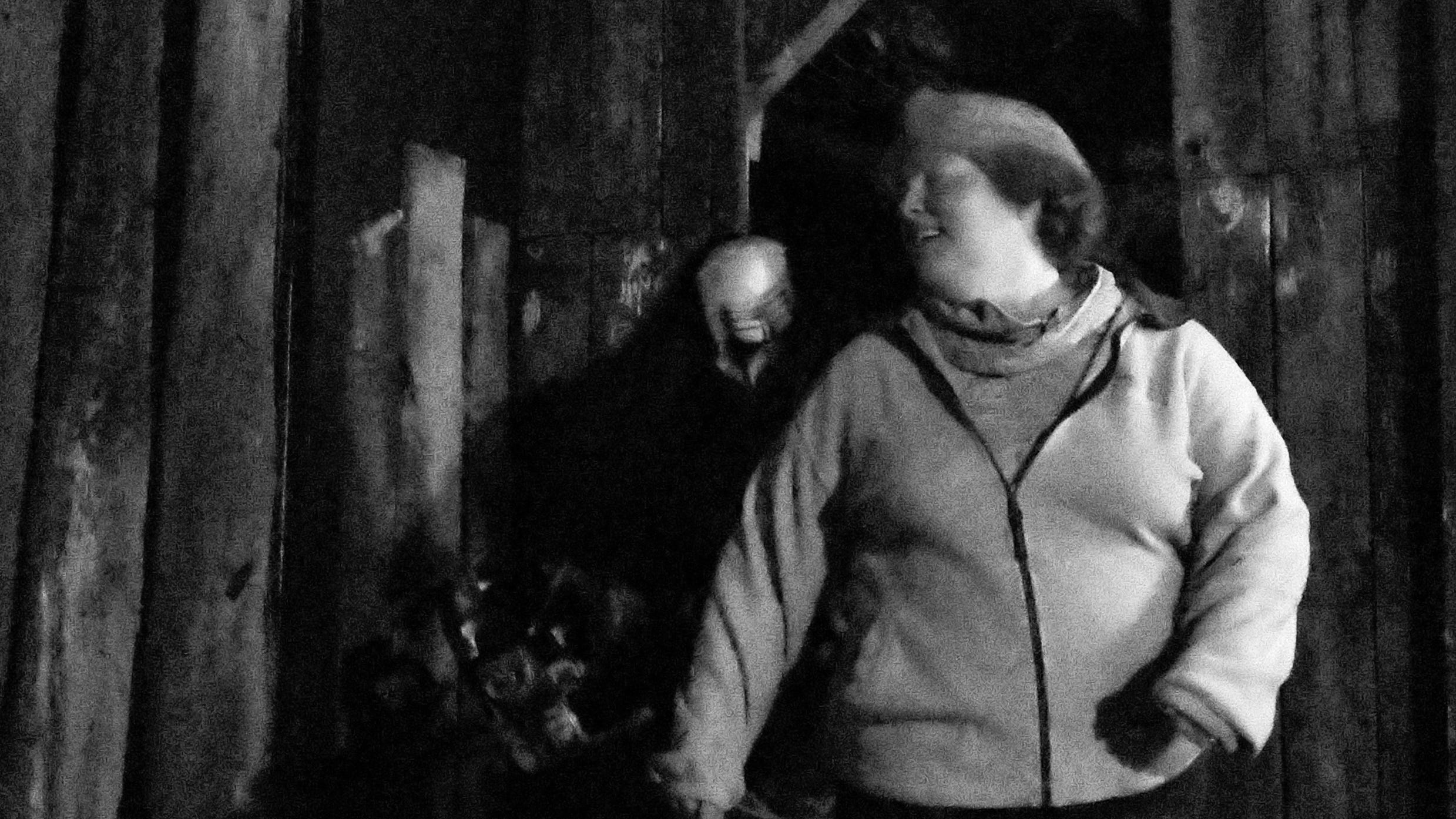 There is always some ghoulish figure waiting to scare thrill seekers at Kim's Krypt Haunted Mill, October 12, 2018.