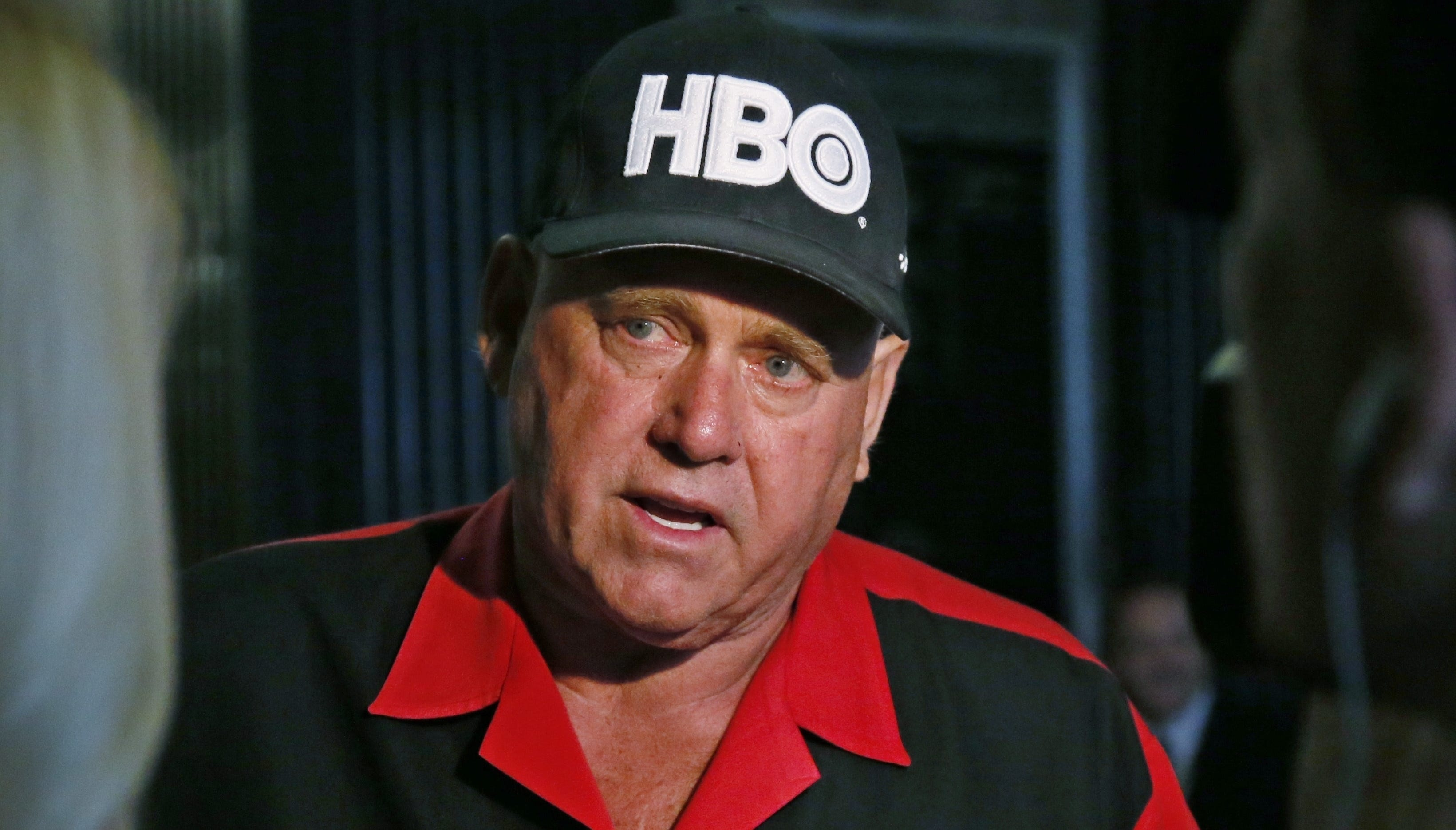 Dennis Hof, owner of the Moonlite BunnyRanch, a legal brothel near Carson City, Nevada, is pictured in 2016 during an interview an in Oklahoma City.   AP FILE - In this June 13, 2016, file photo, Dennis Hof, owner of the Moonlite BunnyRanch, a legal brothel near Carson City, Nevada, is pictured during an interview an in Oklahoma City. Nevada authorities are investigating sexual assault allegations against Hof, a flamboyant legal pimp who is running for the state Legislature. The Nevada Department of Public Safety confirmed the investigation into Hof Wednesday, Sept. 5, 2018. The department said in a statement that the investigation was based on a request by a sheriff in northern Nevada's Carson City, where Hof owns several legal brothels. (AP Photo/Sue Ogrocki, File)
