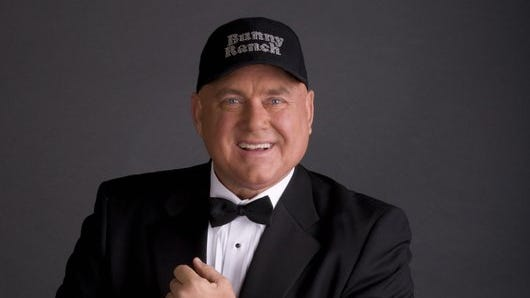 """Provided to the RGJ Dennis Hof, brothel owner and author of """"The Art of the Pimp,"""" is considering running for U.S. Senate for Nevada's Libertarian Party. provided to the RGJ Dennis Hof, brothel owner and author of """"The Art of the Pimp"""""""