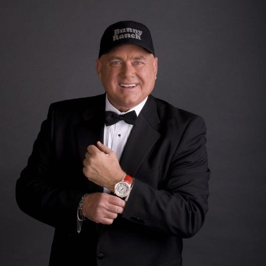 Dennis Hof encountered a number of celebrities, including Bill Clinton and Lamar Odom