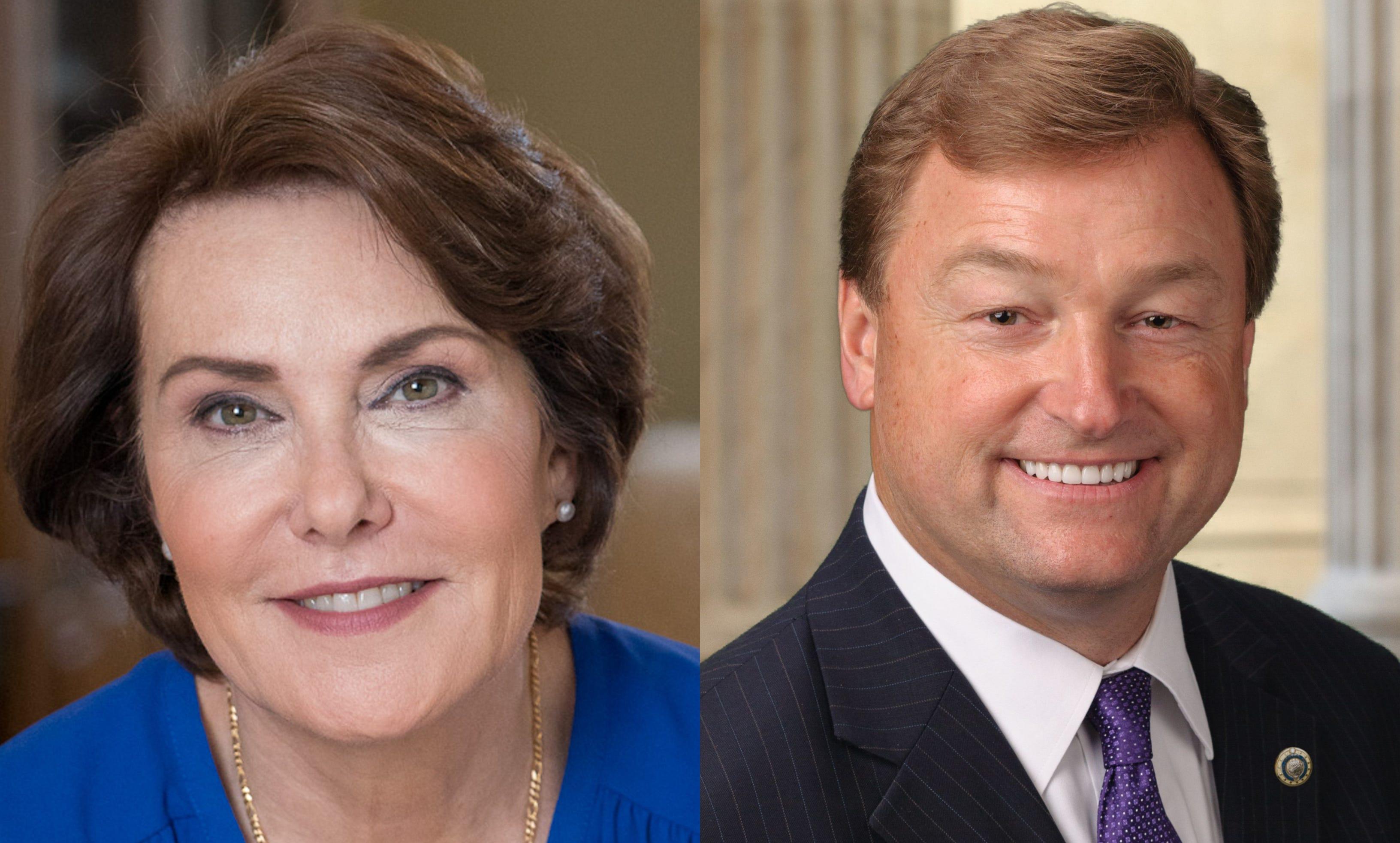 Democrat Jacky Rosen and Republican Sen. Dean Heller are battling it out in Nevada.