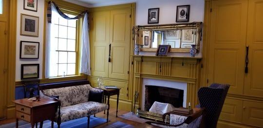 Interior of the historic James Rariden House, 120 W. Main Street, Centerville.
