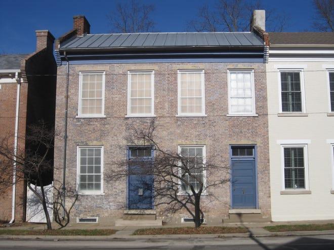 James Rariden House, 120 W. Main Street, Centerville.