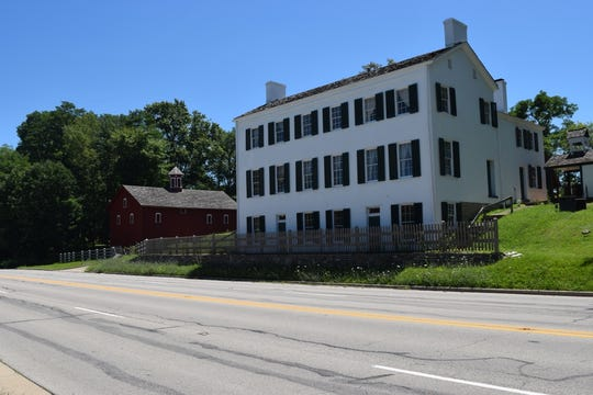 Huddleston Farmhouse, 838 National Road, Cambridge City.