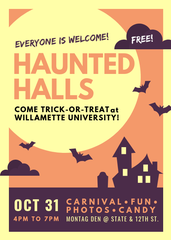 Willamette University's Community Service Learning office will host their annual Trick-or-Treat event on Oct. 31.