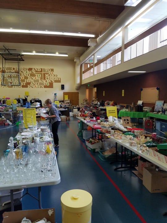 St. Paul semi annual rummage sale will run Oct. 18-20.