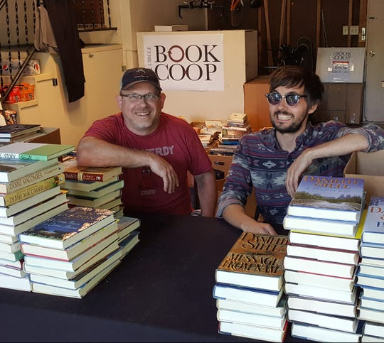 Full Circle Book Co-op founders Jason Kurtz (left) and Sion Lidster.