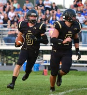 Buffalo Gap's Carter Rivenburg succeeds on the football field and in the classroom for the Bison.