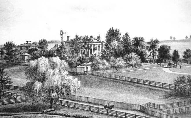 Selma as it appeared in the years immediately following the Civil War.