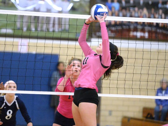 Emily Link is one of just three juniors on the senior-heavy Stuarts Draft roster this year.