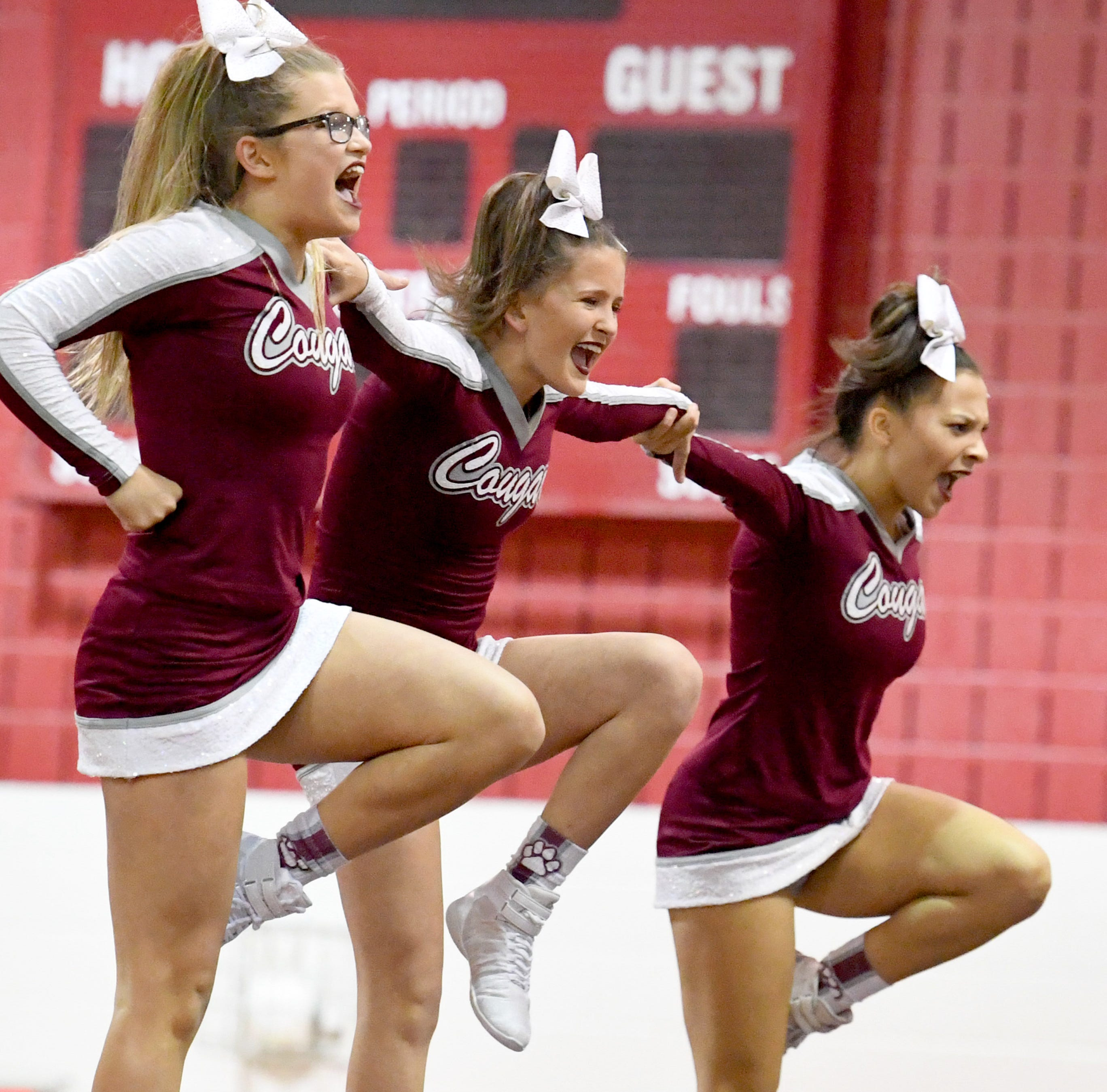 Stuarts Draft takes third straight Shenandoah District competition cheer crown