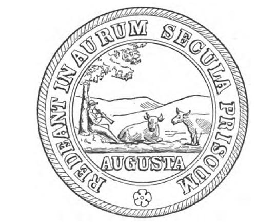 Augusta County seal.
