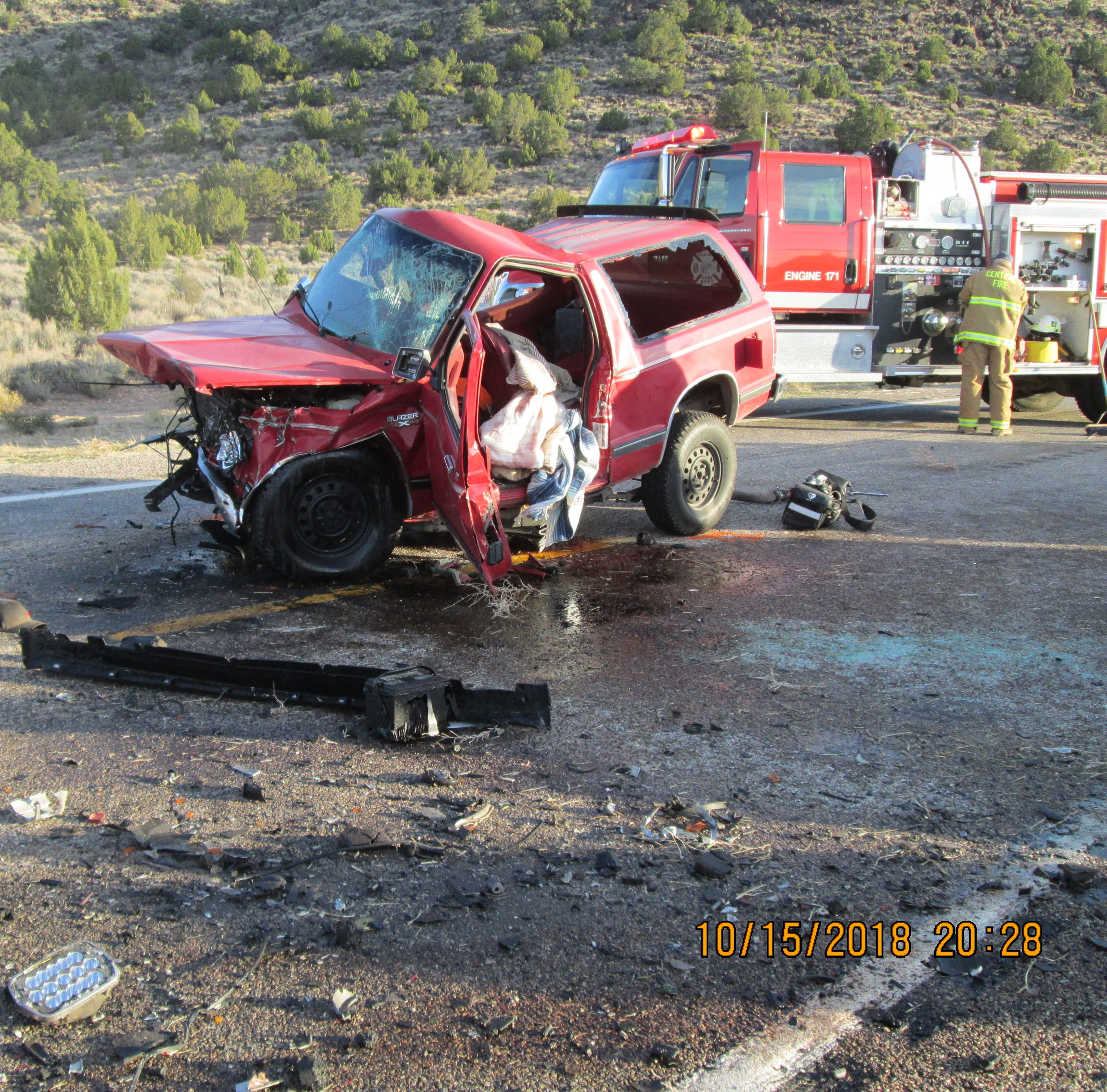 24-year-old killed in head-on crash on Southern Utah highway
