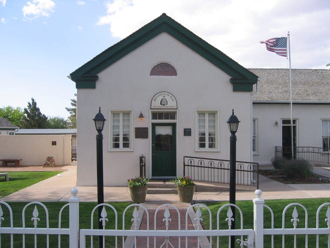 The Washington City Relief Society House.