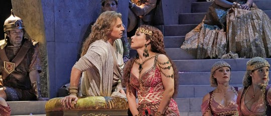 Catch a Biblical opera from the Met in Manhattan on Saturday afternoon in Tallahassee.