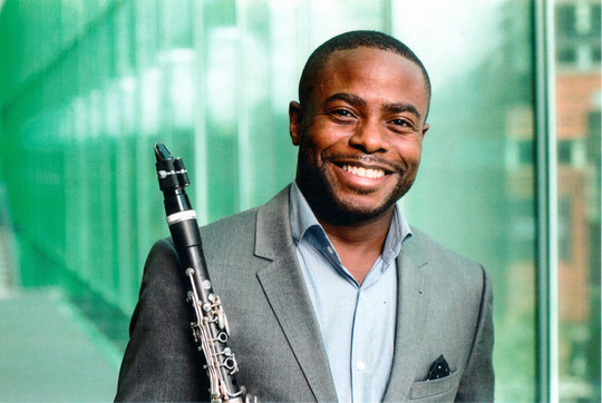 New York Philharmonic clarinet player Anthony McGill joins to TSO on Friday night in Ruby Diamond Auditorium.