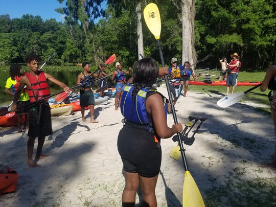 The Tallahassee Adventure Club teaches children and young adults how to empower themselves by reconnecting with nature.