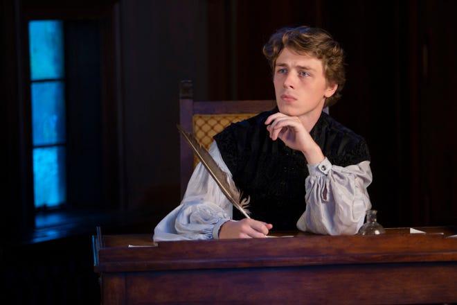 "Weston Warren plays the Bard in ""Shakespeare in Love."""