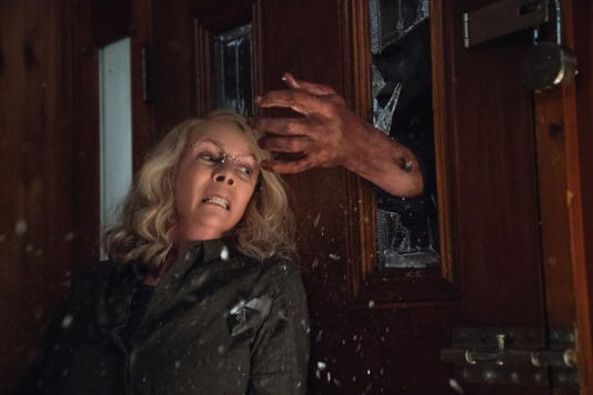 Jamie Lee Curtis In Halloween 2018 Art