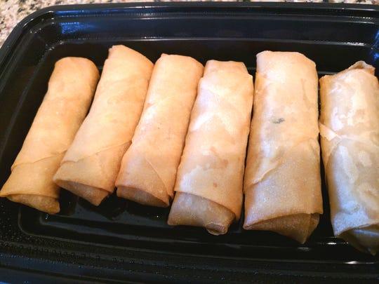 Ume Grill Express's crispy harumaki (spring rolls).
