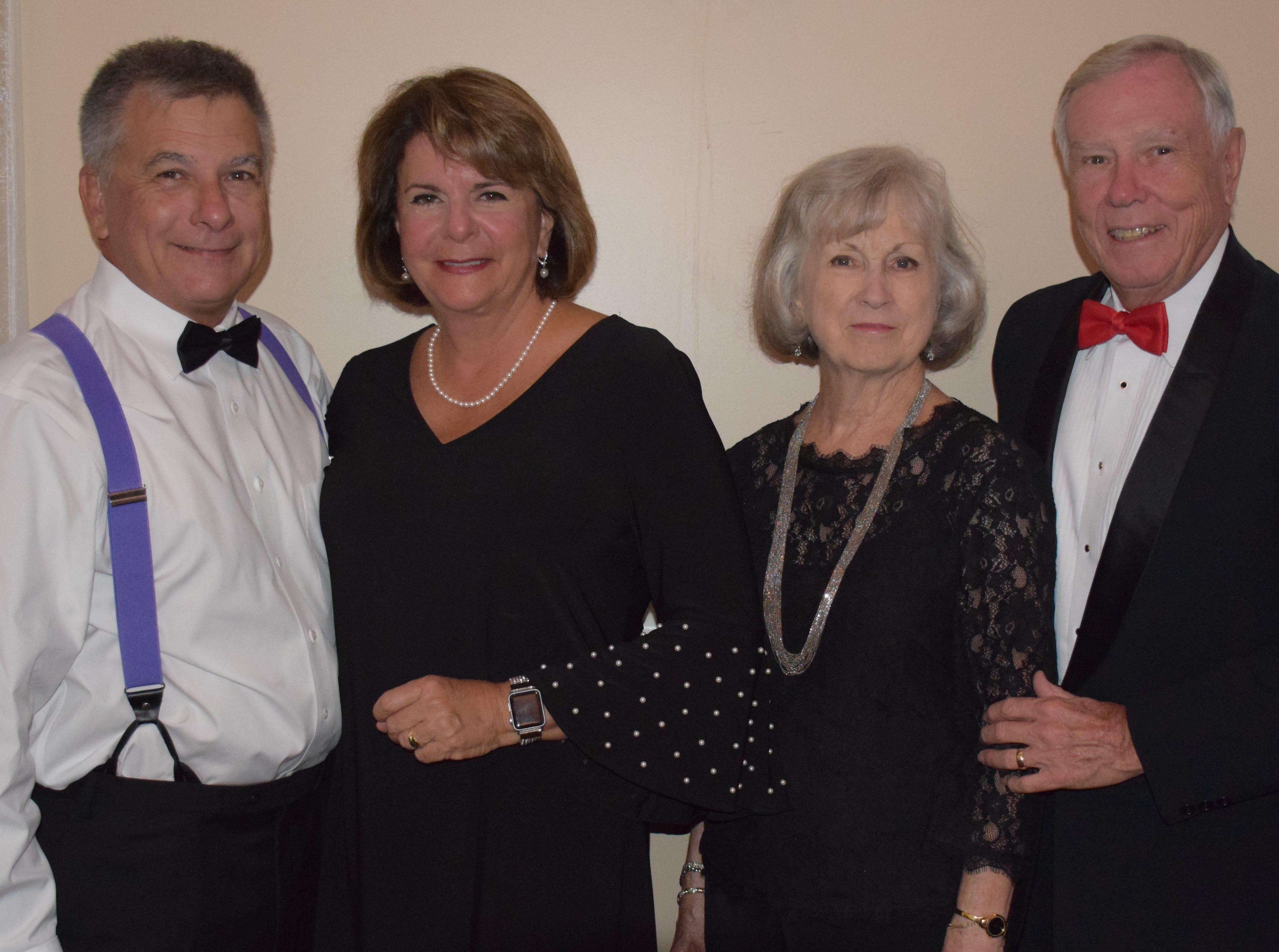Dale & Marllyn Justice and Jan & Joe Binney