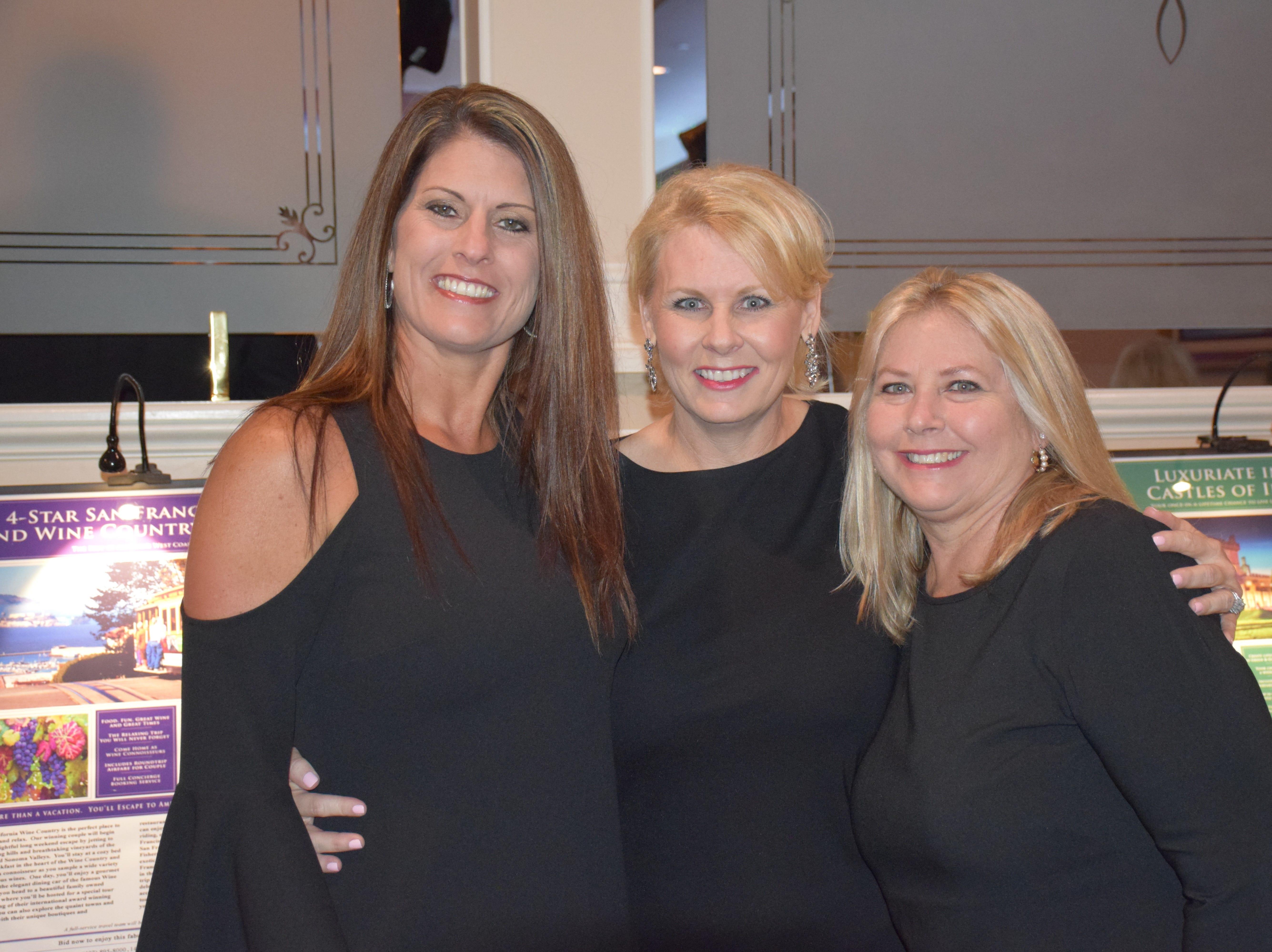 Michelle Griffin, Marni Howder and Rene Cox
