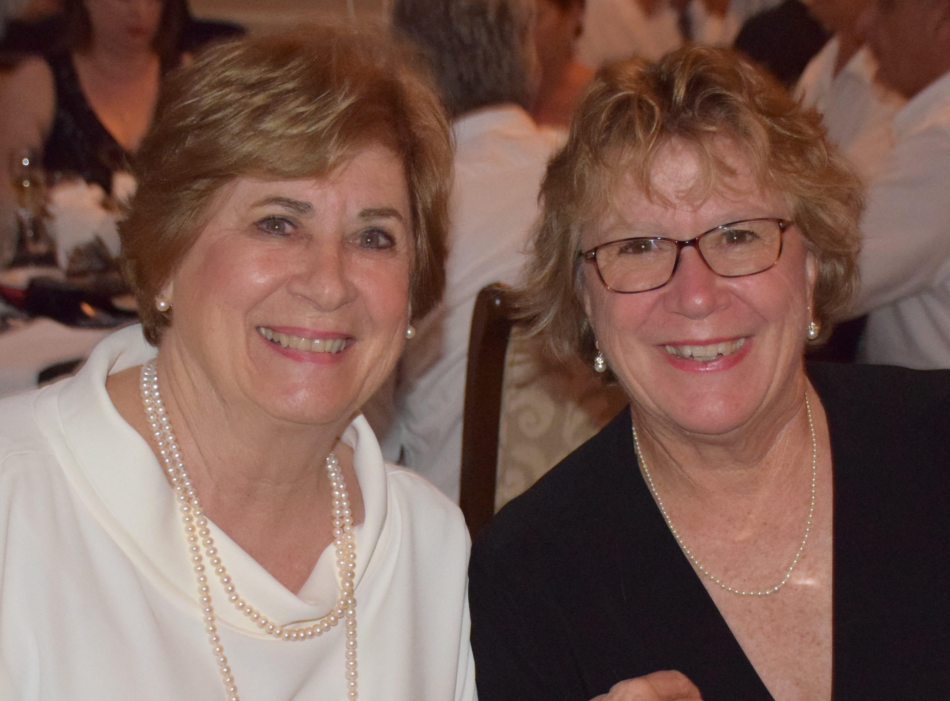 Barbara Parent and Patty Valdez