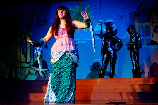 """Performances of El Paso Kids-N-Co.'s """"Disney's The Little Mermaid"""" continue through this weekend at First Presbyterian Church, 1340 Murchison."""