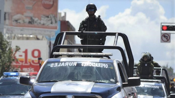 Mexico violence leaves 5 dead, including4 decapitated,on road in state of Chihuahua | El Paso Times