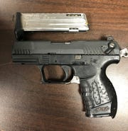 Sheriff's officials seized guns and methamphetamine from a trailer in El Rio during a recent arrest.