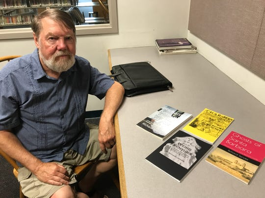 Local author Richard Senate is writing a new book on paranormal activity in Oxnard and Port Hueneme.