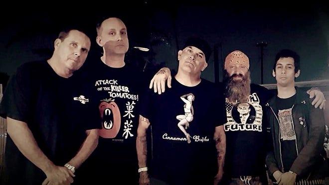 Oxnard punk rockers Stalag 13 plays in Camarillo Sunday.