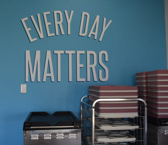 """Every day matters"" has been adopted as a slogan by staff at Vista del Mar Hospital. The hospital was closed after the Thomas Fire."