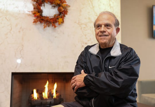 Sal Pellegrino, formerly of Pearl River, will be marking his 75th birthday running his 27th New York City Marathon. Tuesday, October 16, 2018.