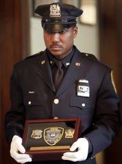 Mount Vernon Police Sgt. Aristotle Evans in a 2008 photo