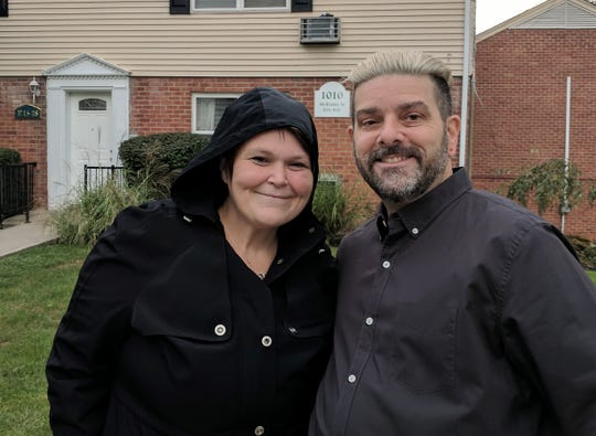 Monica Makelainen and Joey Buttafuoco  live at the Patricia Gardens apartments, a quarter-mile from the BASF plant. They are unaware of any air pollution from the chemical plant.