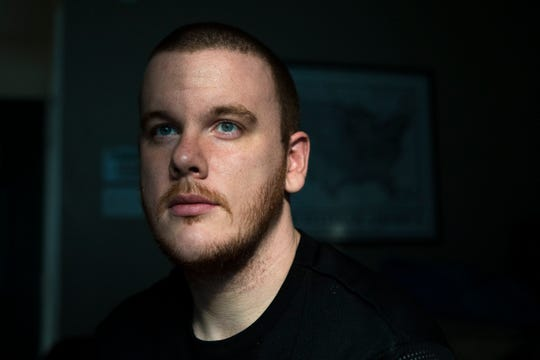 """After surviving a drug overdose and drug addiction, Andrew Morrison takes vivitrol to help him stay away from drugs. """"Try everything, just because vivitrol worked for me doesn't mean it will work for you,"""" said Morrison."""