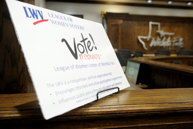 The League of Women Voters is hosting a candidate forum Oct. 6 and 7.